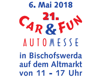Car & Fun Automesse Bischofswerda 2018